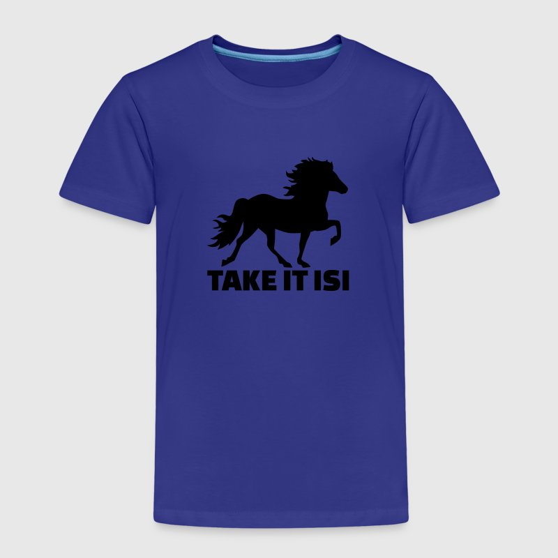 Take it Isi Pferd T-Shirts - Kinder Premium T-Shirt