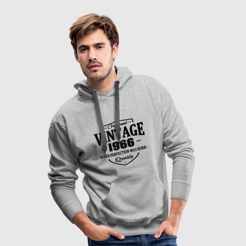 Vintage 1966 Sweat-shirts - Sweat-shirt à capuche Premium pour hommes