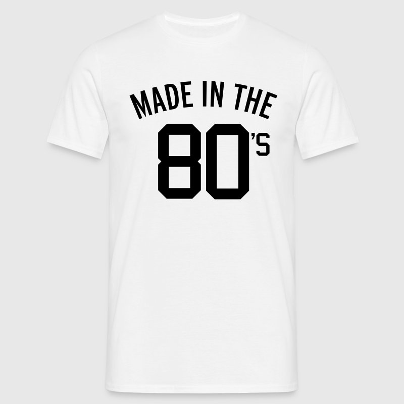 Made In The 80's  Camisetas - Camiseta hombre