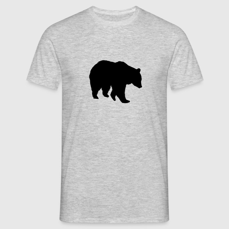 Bear - ours brun - la chasse - chasseur Tee shirts - T-shirt Homme