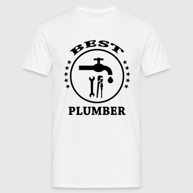Best Plumber  Aprons - Men's T-Shirt
