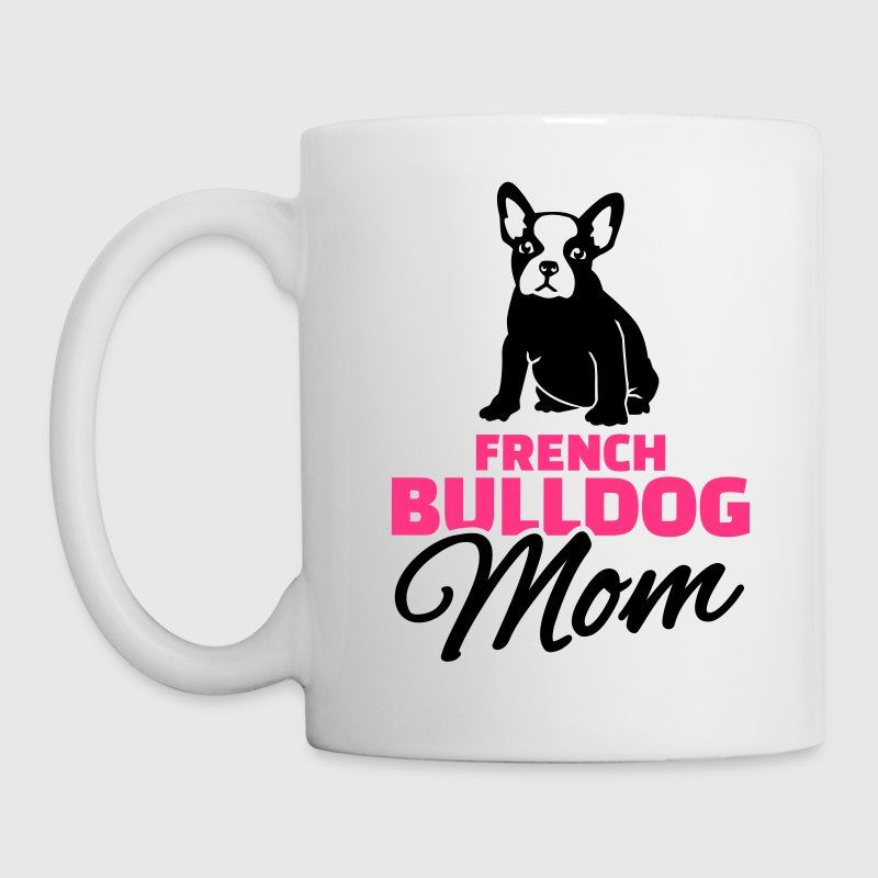 French Bulldog Mom - Kubek