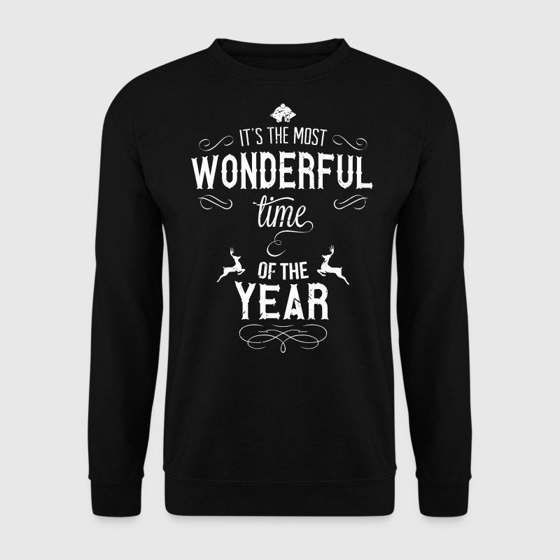 most_wonderful_time_of_the_year_w Sweaters - Mannen sweater