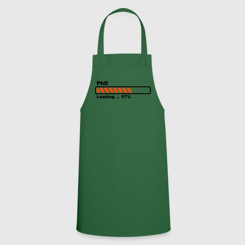 PhD loading bar  Aprons - Cooking Apron