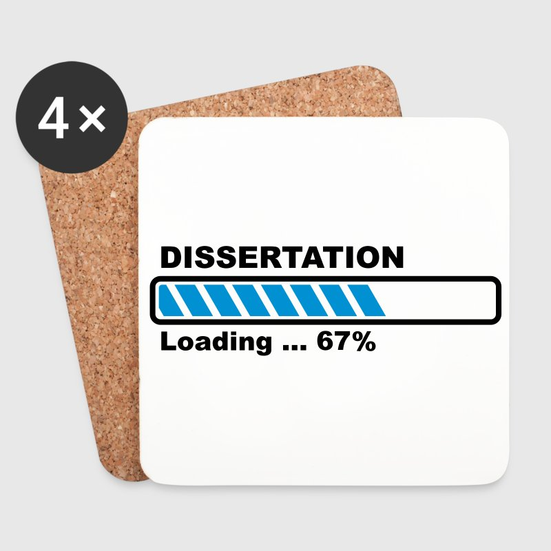 Dissertation - loading Mugs & Drinkware - Coasters (set of 4)