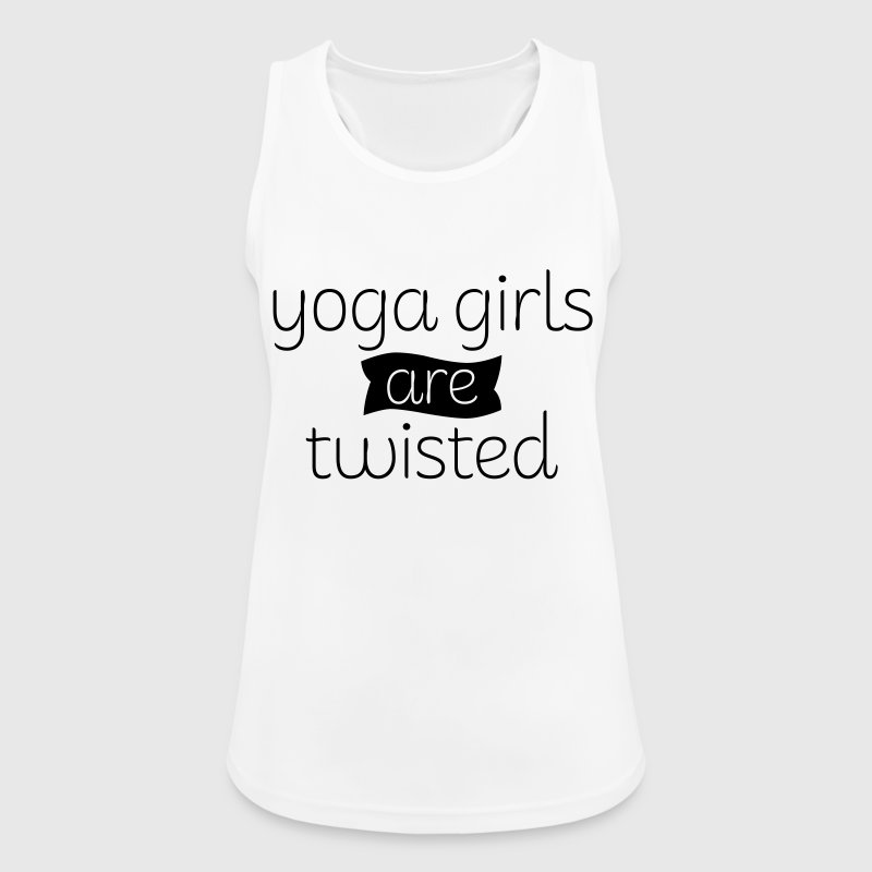 Yoga Girls Are Twisted Tops - Women's Breathable Tank Top