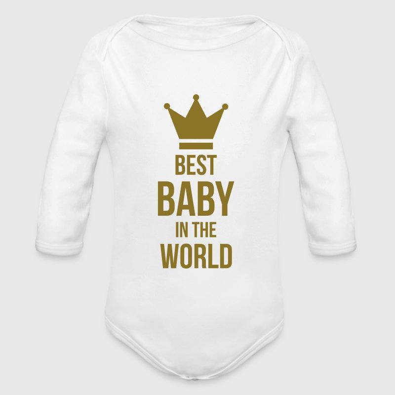 Best Baby in the World Sweats - Body bébé bio manches longues