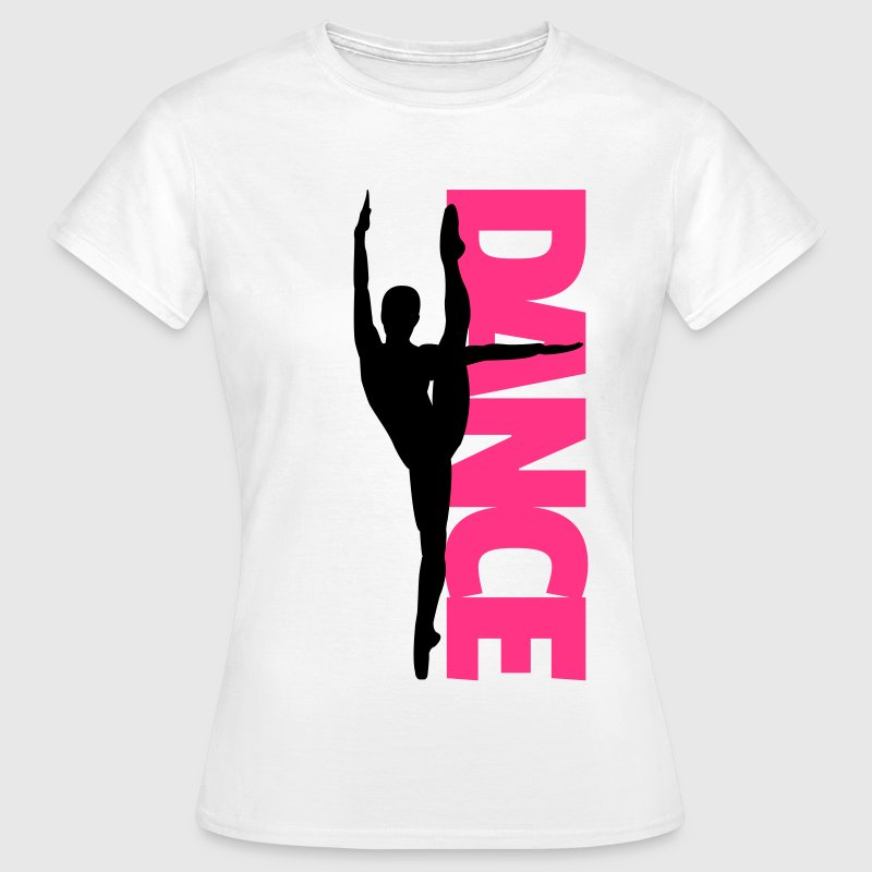 Dance Text Girl  T-shirts - T-shirt dam