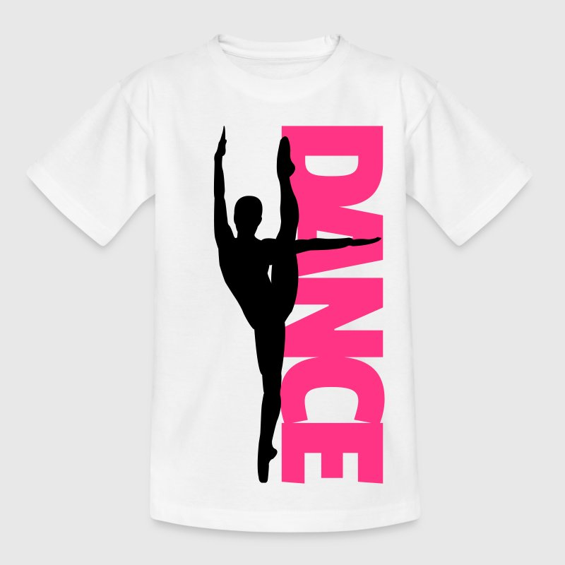 Dance Text Girl  Shirts - Kids' T-Shirt