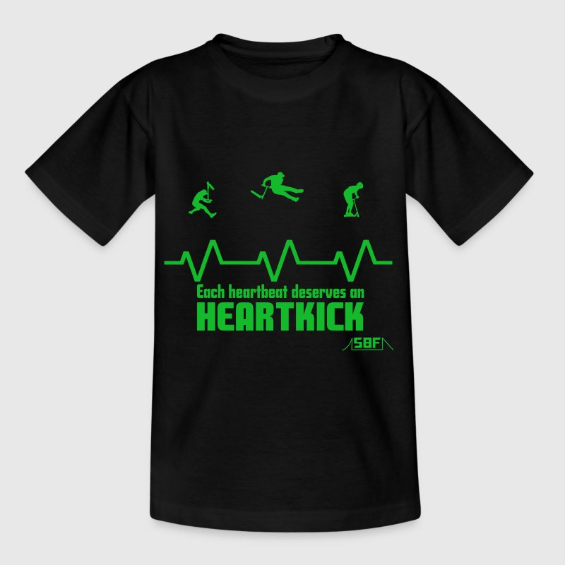 Heartbeat Scooter T-shirts - Teenager-T-shirt