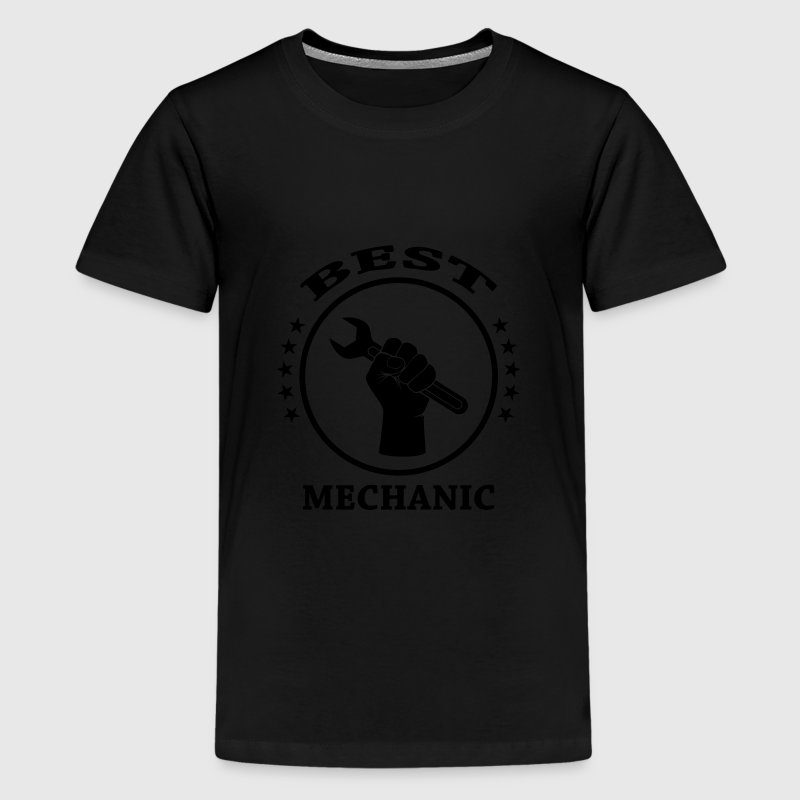 Best Mechanic Shirts - Teenage Premium T-Shirt