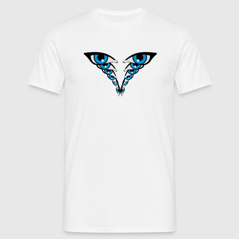Effet yeux Tee shirts - T-shirt Homme