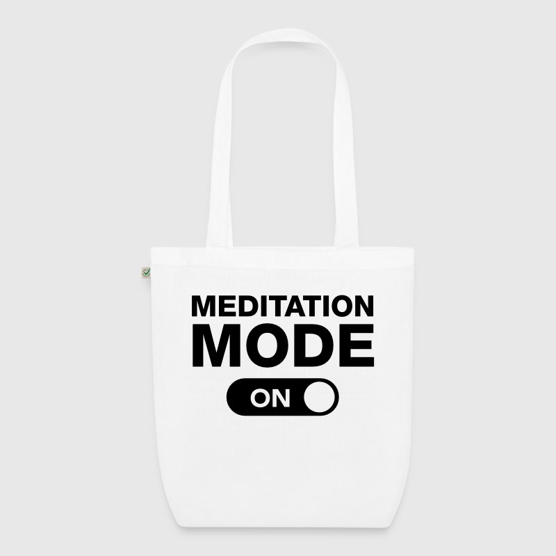 Meditation Mode (On) Bags & Backpacks - EarthPositive Tote Bag