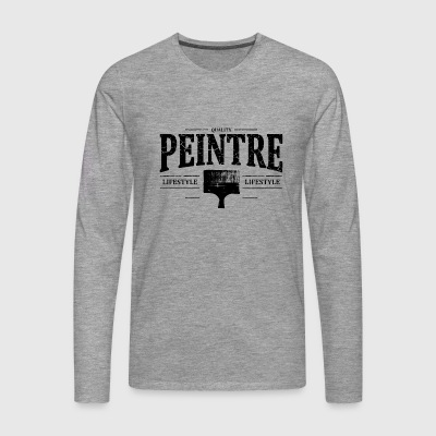 manches longues peinture commander en ligne spreadshirt. Black Bedroom Furniture Sets. Home Design Ideas