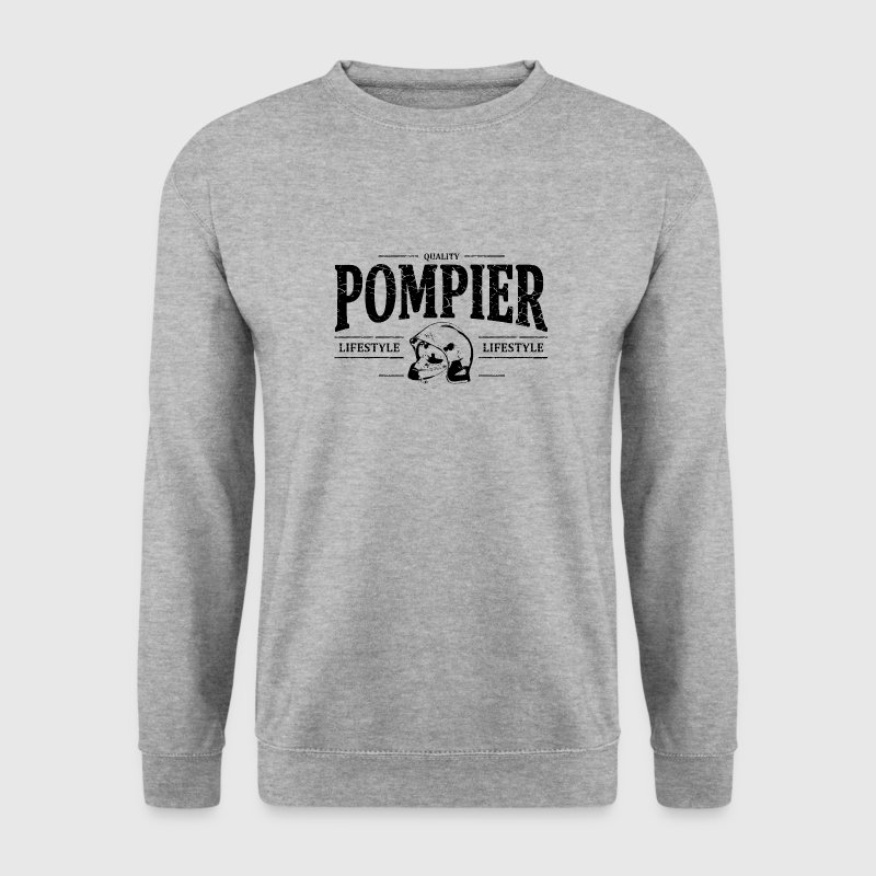 Pompier Sweat-shirts - Sweat-shirt Homme