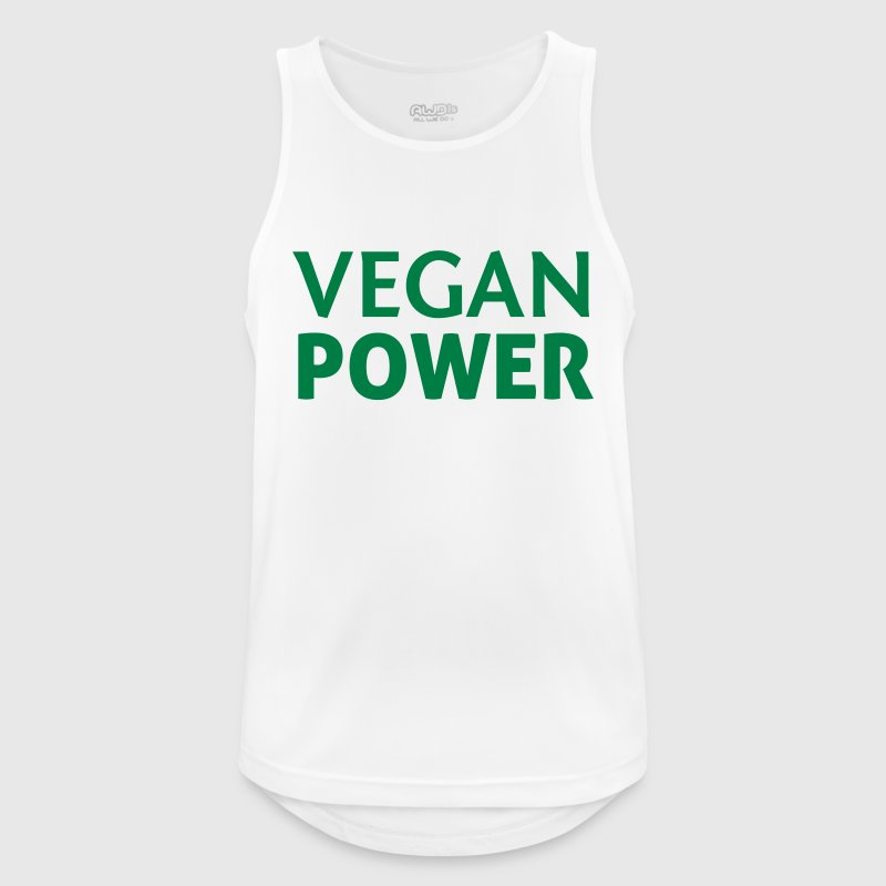 Vegan Power Sports wear - Men's Breathable Tank Top
