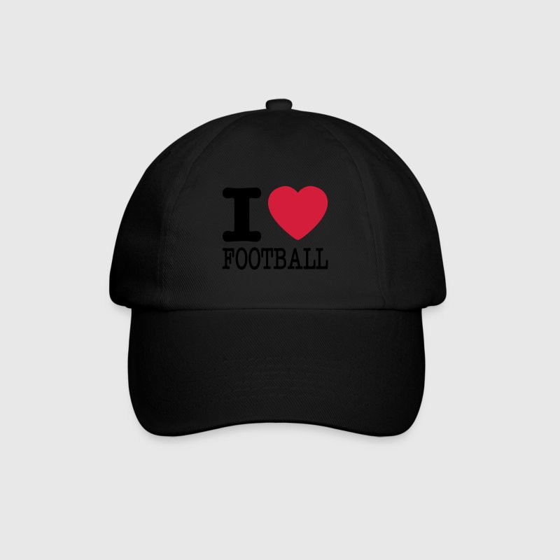 i love football / I heart football  2c Caps & Hats - Baseball Cap