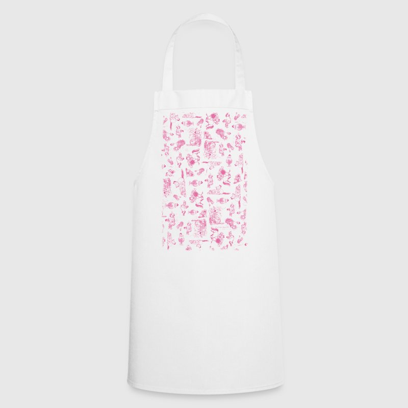 PonyCartoons Pink Thelwell Cartoon  Aprons - Cooking Apron