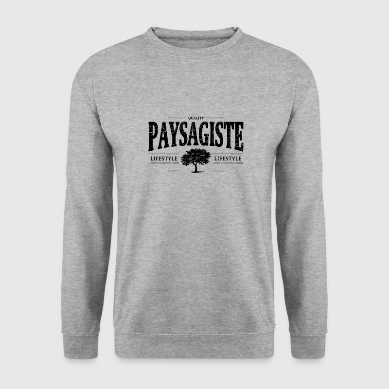 Paysagiste Sweat-shirts - Sweat-shirt Homme