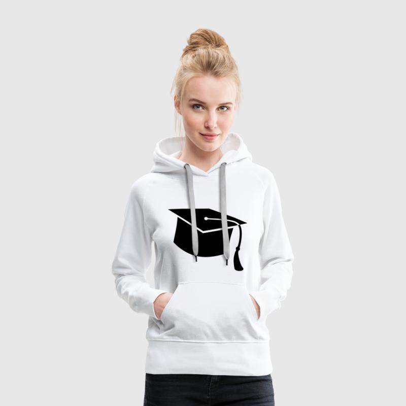 étudiant, étudiant en informatique, université, ét Sweat-shirts - Sweat-shirt à capuche Premium pour femmes