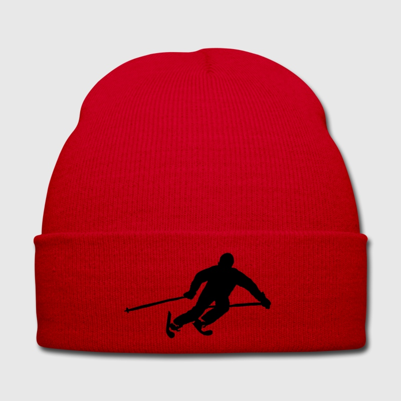 Ski Alpin skier downhill mountains I Love Skiing Caps & Hats - Winter Hat