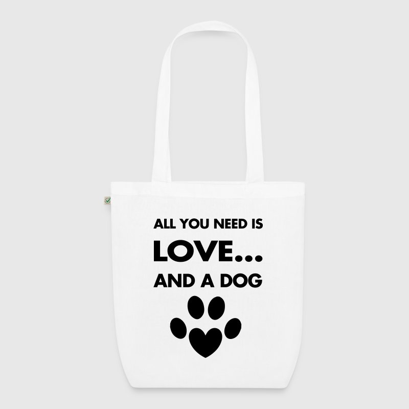 Love Dogs Bags & Backpacks - EarthPositive Tote Bag