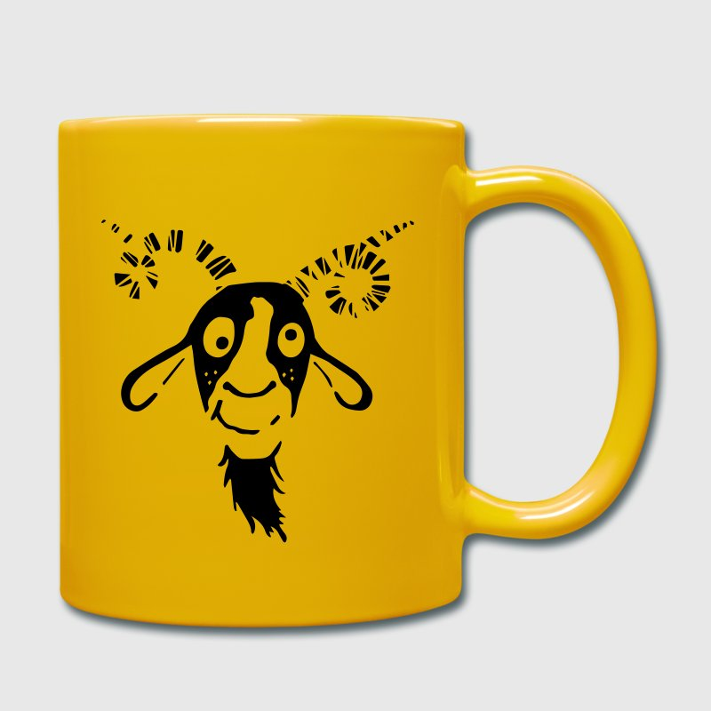 Funny Goat Mugs & Drinkware - Full Colour Mug
