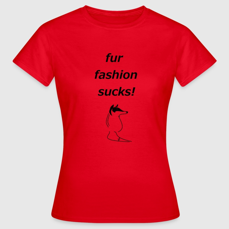 Black Fox Damen Shirt - Frauen T-Shirt