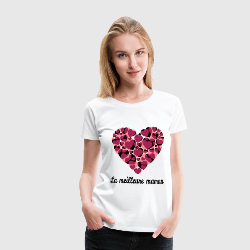 tee shirt la meilleure maman spreadshirt. Black Bedroom Furniture Sets. Home Design Ideas