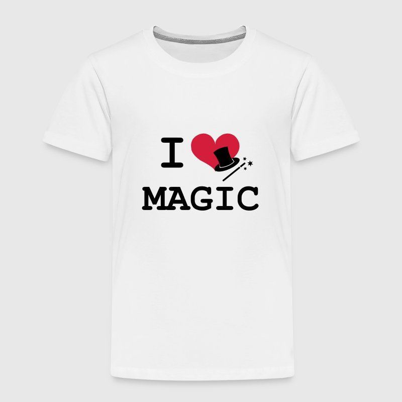 I Love Magic  Shirts - Kinderen Premium T-shirt