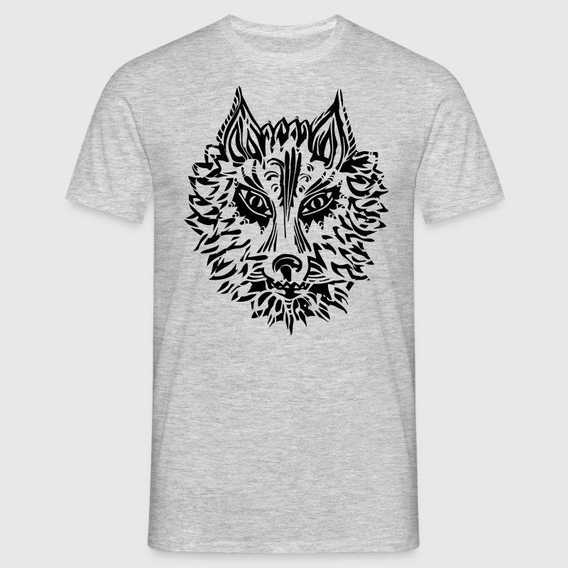 Wolf, symbol of loyalty and strength, Animal Totem T-Shirts - Männer T-Shirt