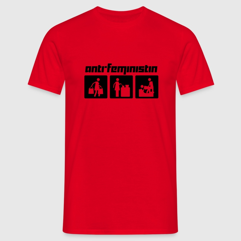 Anti-Feministin (Vektor) - Men's T-Shirt
