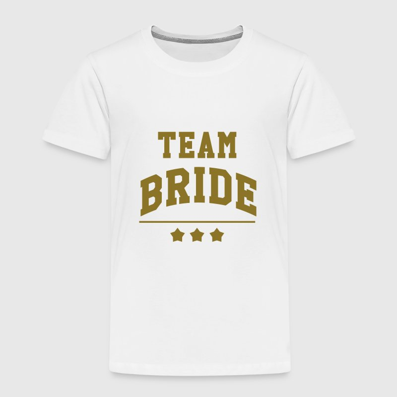 Team Bride - Wedding Shirts - Kids' Premium T-Shirt