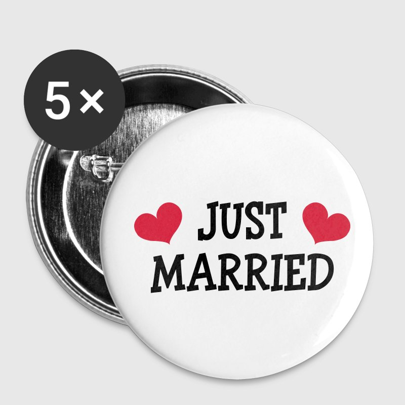 Just Married - Wedding Badges - Badge moyen 32 mm