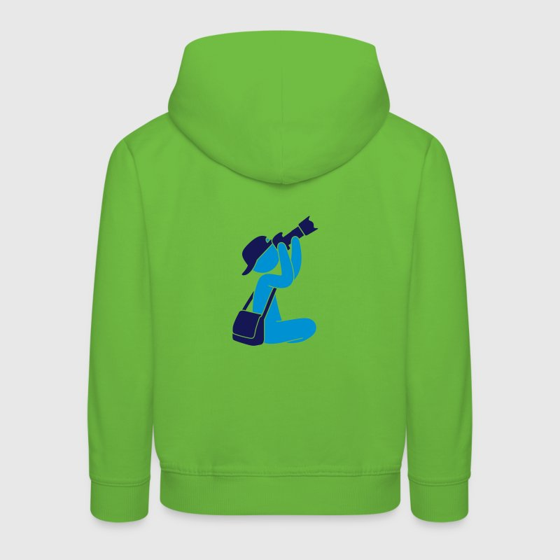 Photographer with camera Hoodies - Kids' Premium Hoodie