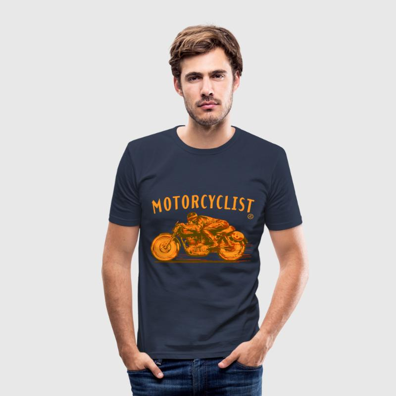 motorcyclist T-Shirts - Men's Slim Fit T-Shirt