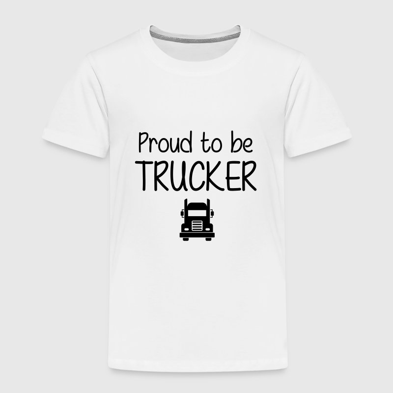 Proud to be Trucker Shirts - Kids' Premium T-Shirt