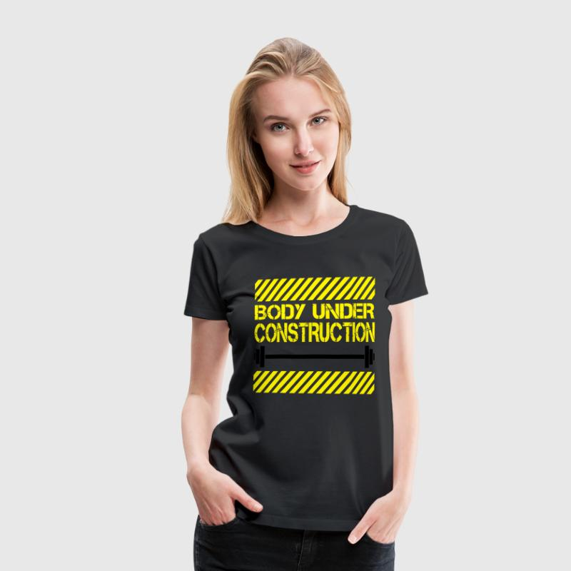 Body under construction Tee shirts - T-shirt Premium Femme
