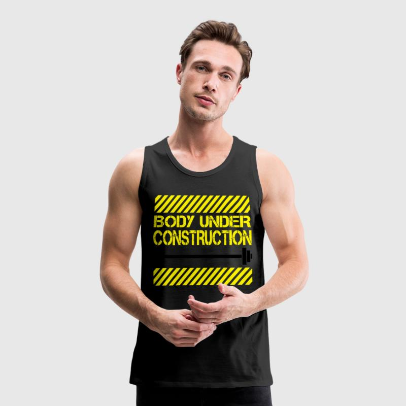 Body under construction Tank Tops - Männer Premium Tank Top
