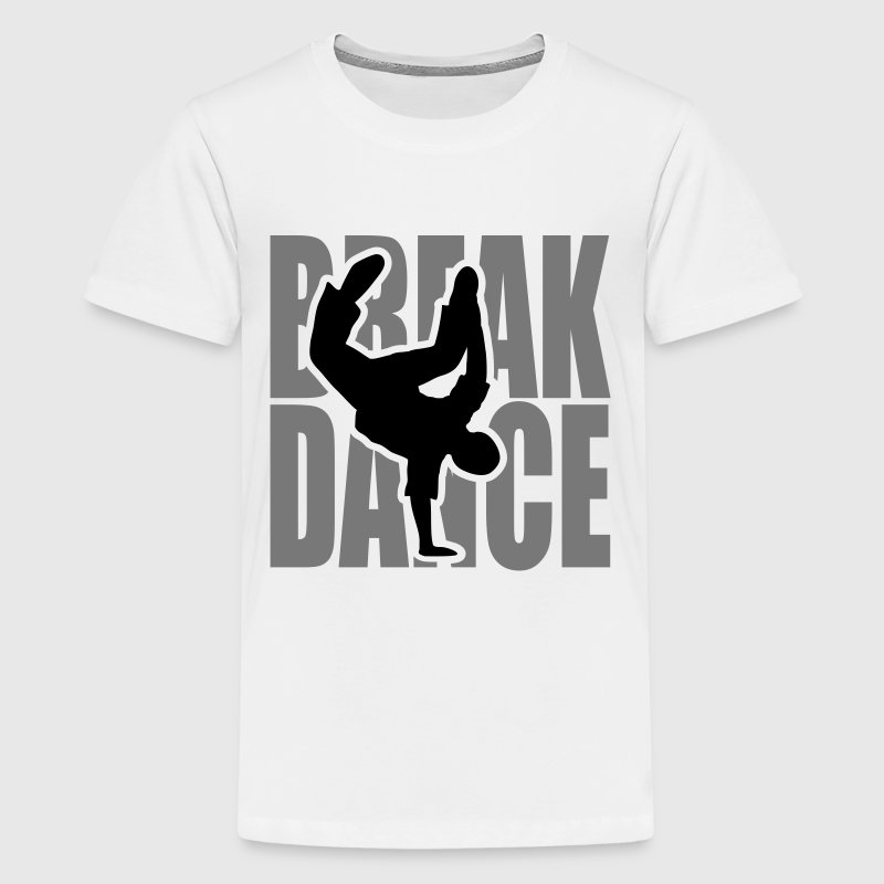 Breakdance break dans Moves Freeze danser  Skjorter - Premium T-skjorte for tenåringer