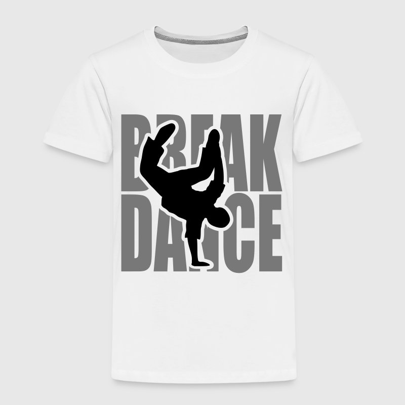 Breakdance Dancer Moves Freeze Clipart Music Dance Shirts - Kinderen Premium T-shirt