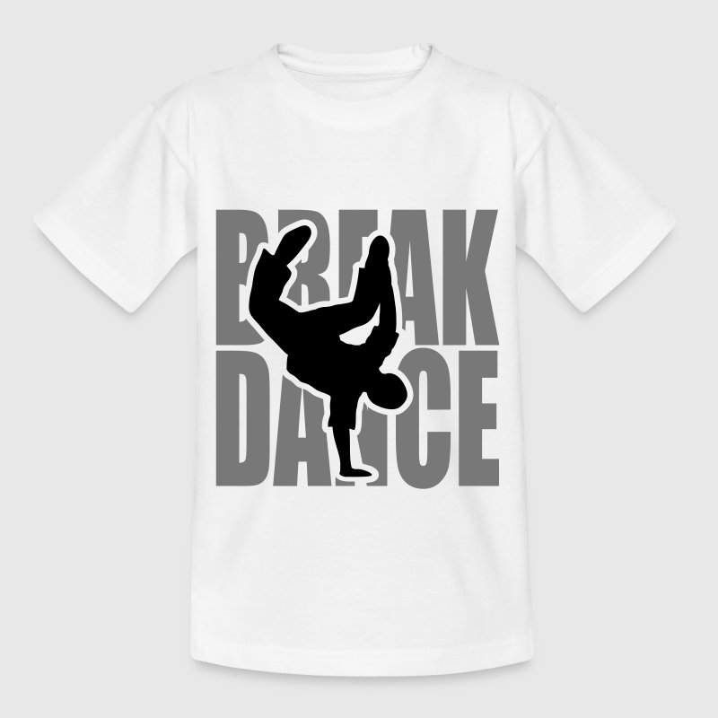 Breakdance Breakdancer Moves Freeze Logo Battle  T-Shirts - Kinder T-Shirt