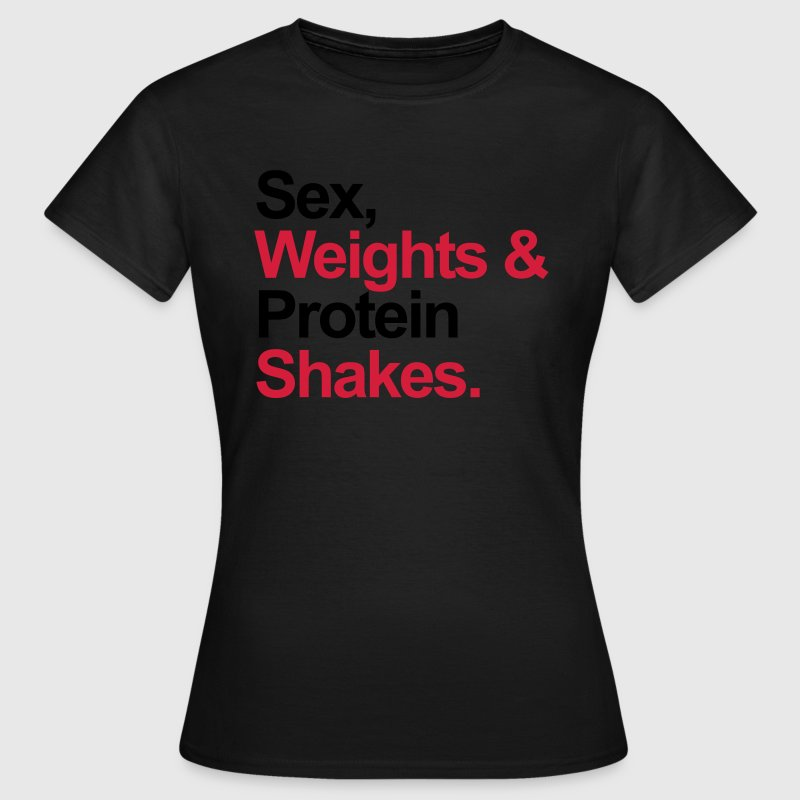 Protein Shakes  T-Shirts - Women's T-Shirt