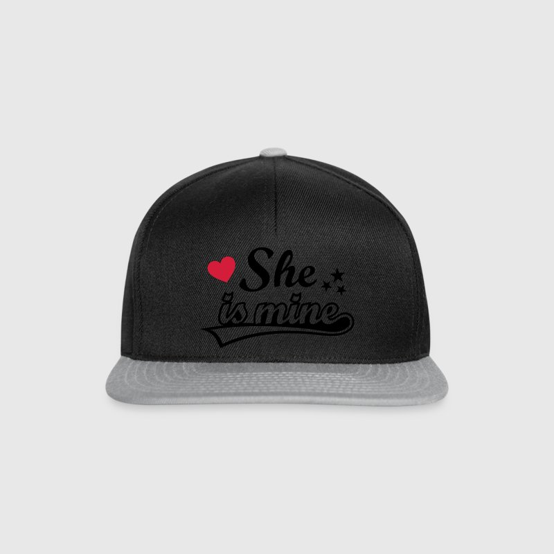 She's mine Love girlfriend. Valentine's Day gifts  Caps & Hats - Snapback Cap