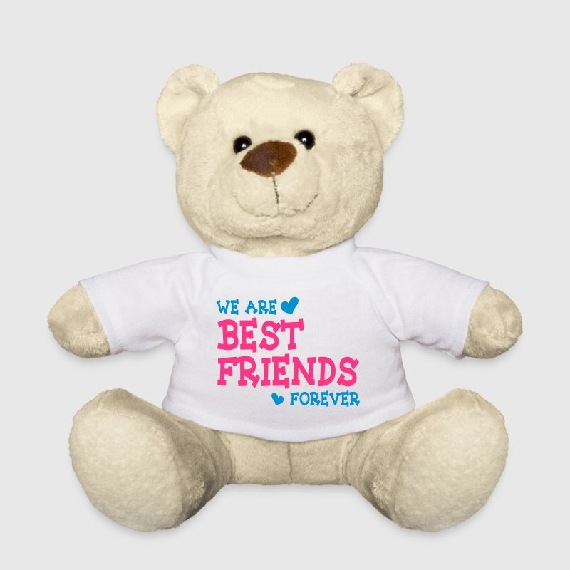 we are best friends forever ii 2c Kuscheltiere - Teddy