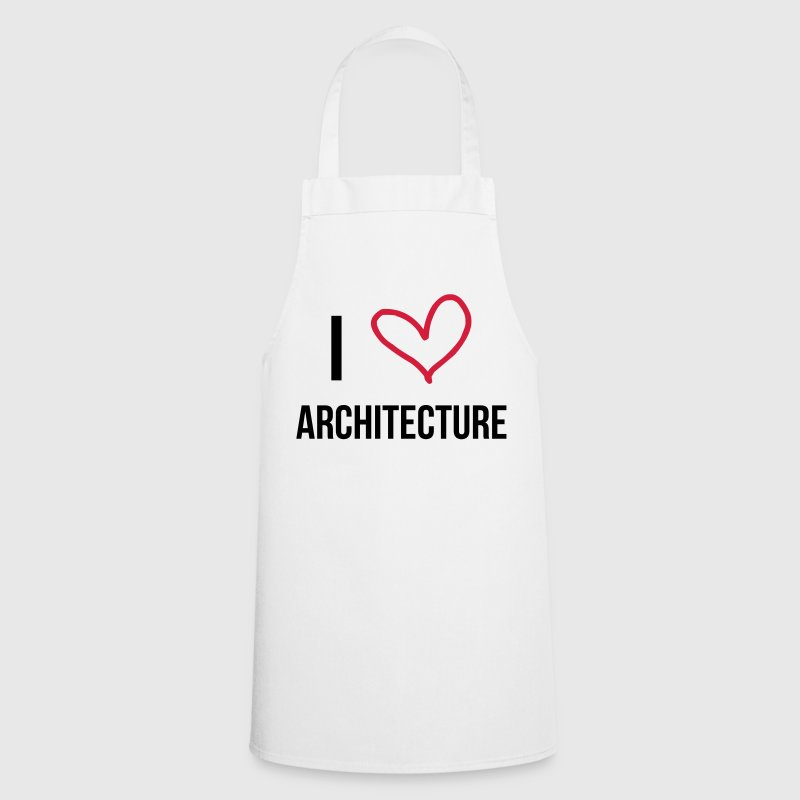 I Love Architecture Tabliers - Tablier de cuisine