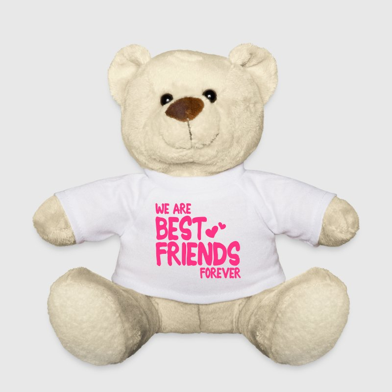 we are best friends forever i 1c Peluche - Orsetto