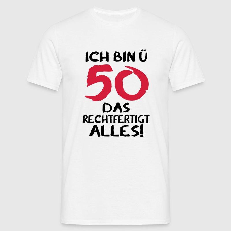 50 geburtstag 50 geschenk 50 t shirt spreadshirt. Black Bedroom Furniture Sets. Home Design Ideas