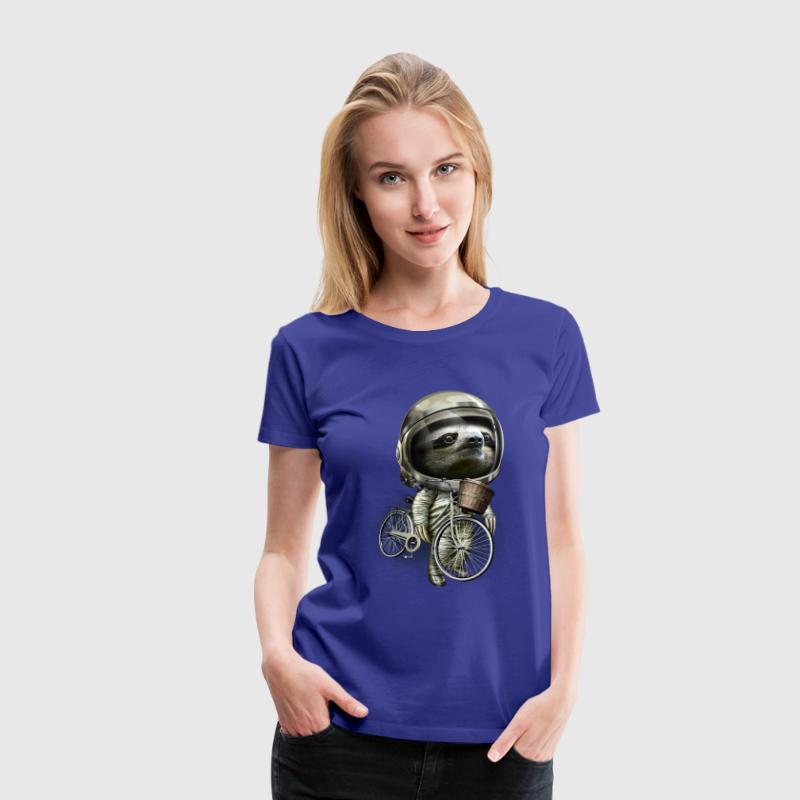 WITH MY BICYCLE - Women's Premium T-Shirt