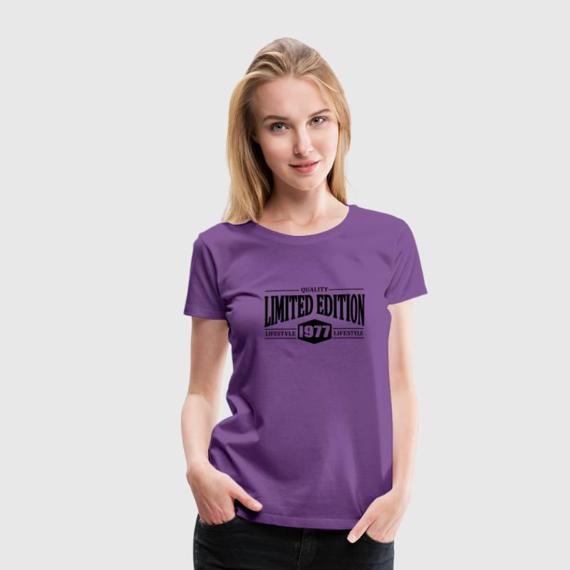 Limited Edition 1977 T-Shirts - Women's Premium T-Shirt